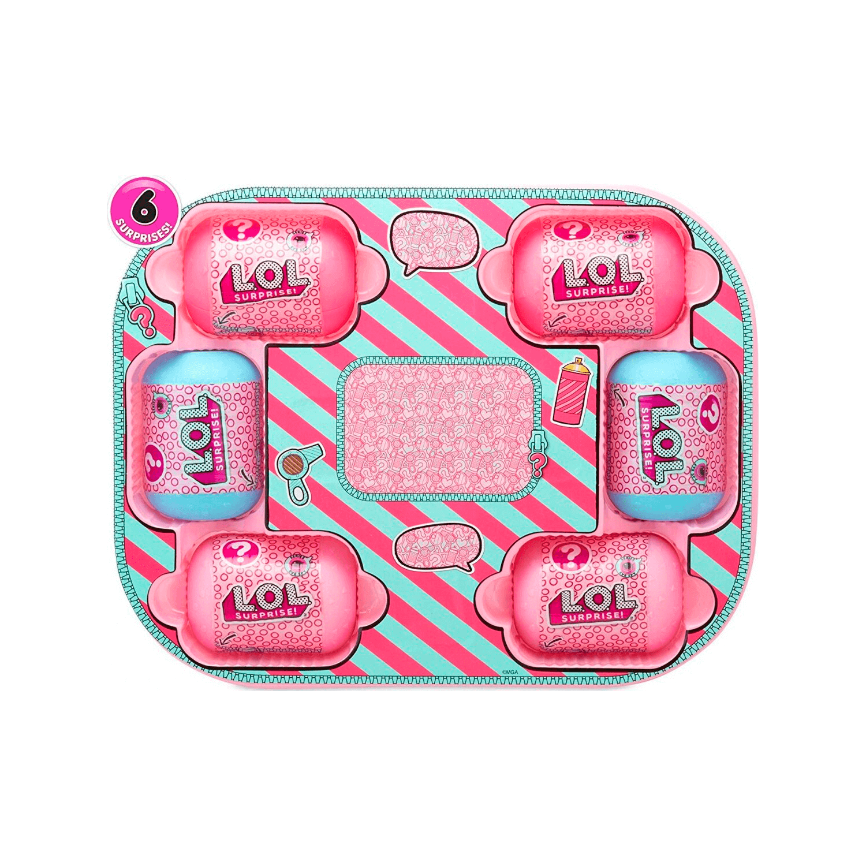 Кукла LOL Bigger Surprise (розовый чемоданчик 60 сюрпризов) - 5